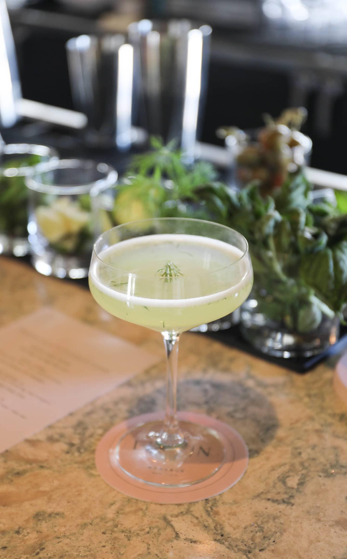La Fin Montauk Cocktail Dill